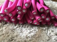 Extra large (width) bendy curlers.