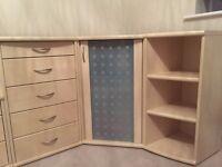 IMMACULATE NOLTE 3 piece bedroom/office set