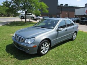 2006 Mercedes-Benz C-Class ~ LOW KM ~ 2.5L ~ MUST SEE
