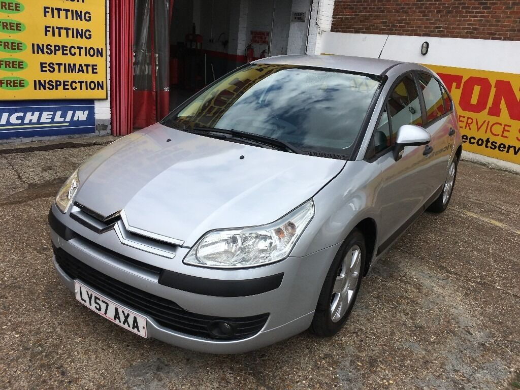 2007 CITROEN C4 1.6 AUTOMATIC SILVER 1 OWNER 59 000 MILES HPI CLEAR