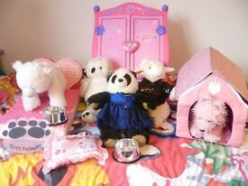 Build A Bear Workshop Teddy Bears With Loads Extra Huge Bundle Car Boot Sale..Black Bag 100 0N0