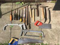 Hand tool joblot