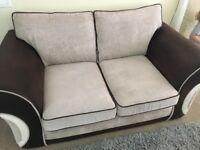 2 seated sofa & armchair