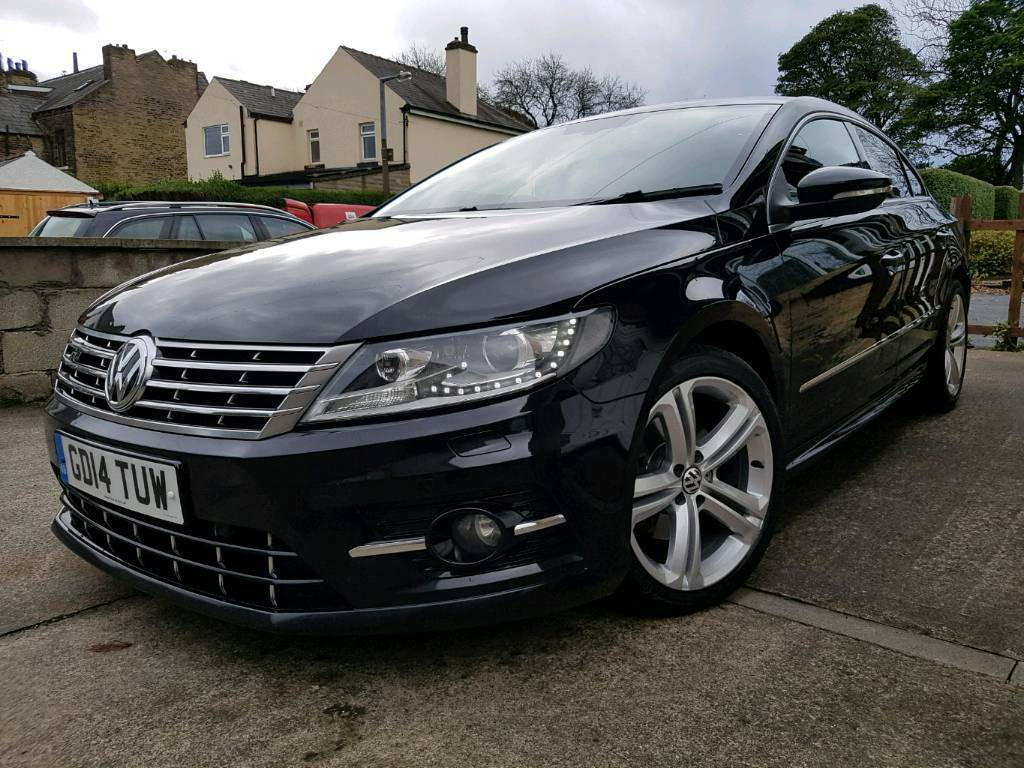 2014 39 14 39 volkswagen passat cc 2 0 tdi bmt 177 r line black with red leather in pudsey west. Black Bedroom Furniture Sets. Home Design Ideas