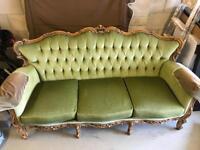 Original 1978 Italian style sofa