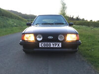 Ford Escort XR3i 1.6i Mk3 Low mileage extreamly well presented classic ford May px