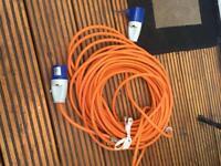 Caravan hook up extension cable