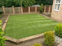 Landscaping solutions garden drive fencing gates paving gravel turfing