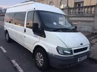 2002 ford transit2.0 tdci 14 seater minibus-mot