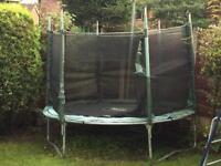 Plumb 8ft trampoline
