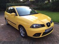2008 Seat Ibiza 1.2 12v Reference Sport 3 door LOW MILES