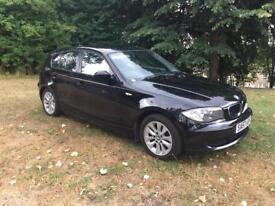 2007 (57) BMW 116i ES BLACK 5DR 1.6 PETROL LONG MOT CLEAN CAR
