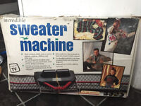 Unused Sweater Machine