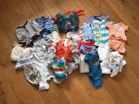 Bundle of baby boys clothes - 0-3 months