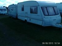 bailey manta 96 2 berth with end wash room cassette toilet awning extras