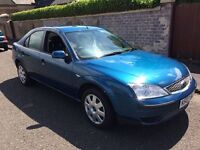 2007 FORD MONDEO ZETEC RELIABLE CAR MAY 2018 MOT PX WELCOME