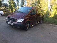 9 seater Mercedes Vito, 2009. Used for Childminding business. Good runner and tidy body work.