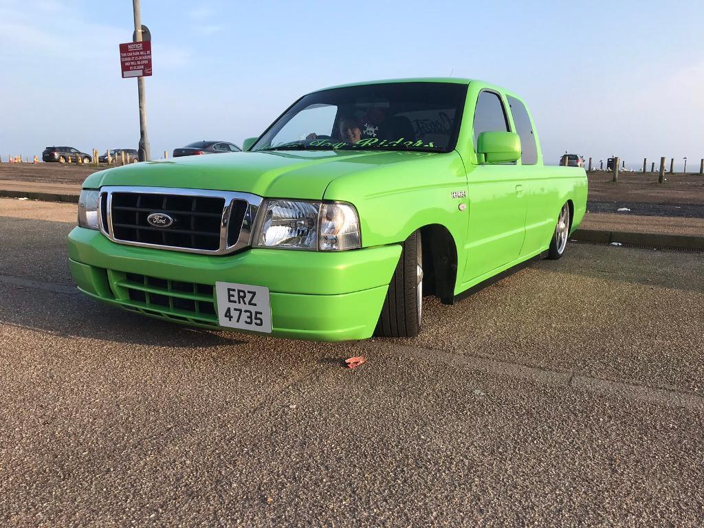 Custom low rider ford ranger
