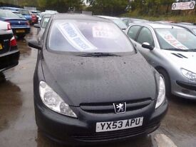 Peugeot 307s HDI 90,5 dr hatchback,nice clean tidy car,runs and drives well,very economical,YX53APU
