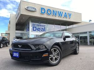 2013 Ford Mustang V6 |LEATHER|AUTOMATIC|LOW KM!|WARRANTY