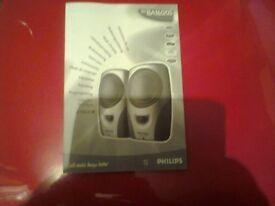 New Philips 4w speakers (MUST GO)