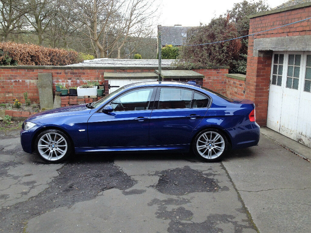 bmw 325d 2006 56 e90 325 d m sport 3 0 diesel manual le mans blue like 330d 320d in halifax. Black Bedroom Furniture Sets. Home Design Ideas
