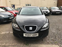 Seat Leon 1.6 Reference 5dr - 2007, 2 Owners, 11 Months MOT, Service History, Drives Perfect! £2195