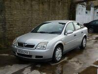 2004 Vauxhall VECTRA LS SILVER 5 DOOR HATCHBACK LONG MOT SOME PAPER WORK HPI CLEAR