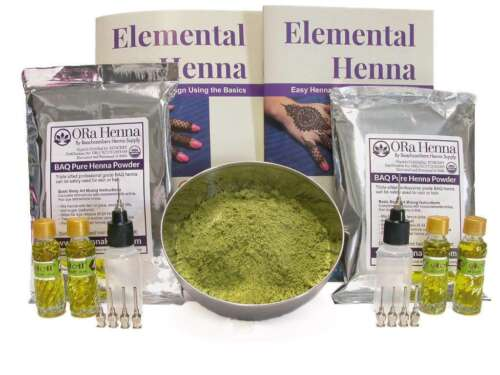 Henna Powder Easy Tattoo Kit For Fund Raising Events Charities and Festivals