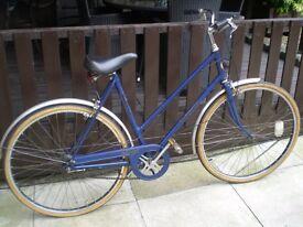 1950/60 VINTAGE LADIES BICYCLE BIKE 3 GEARS HERCULES