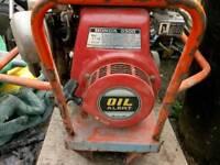 Honda 2.5 kw generator 240v/110v.