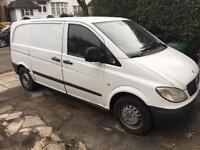 Mercedes Vito van 05' - comes with builders tools