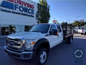 2015 Ford Super Duty F-550 XLT 4x4 All-Terrain Tires, 36,602 KMs