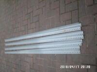Dexion shelfing lengths.