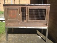 Rabbit bunny/ or hamster wooden cage House