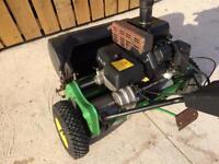 John Deere 220 Reel Mower, lawnmower.