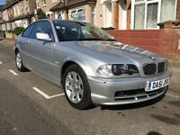 BMW 3 Series 2.0 318CI SE AUTO - LOW mileage! MOT till August 2017