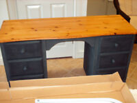 Good quality hand painted desk