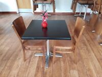 2 Seated Table (Black)