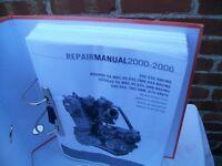 KTM exc workshop manual.2000-2006 RFS models