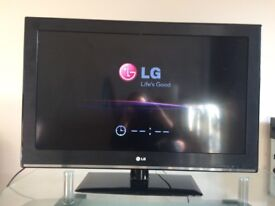 LG 32 inch Full HD 1080p LCD TV with Freeview, excellent condition