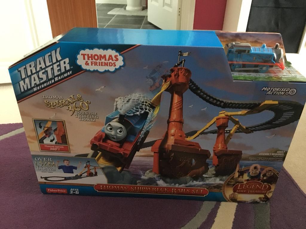 Brand New Thomas Trackmaster set