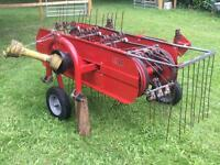 5ft Hay Rake for compact tractor or small tractor