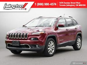 2015 Jeep Cherokee Limited **LOADED!!**|NAV|LEATHER|PANOROOF|+++