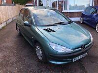 Peugeot 206 £845 Low Miles (Not Polo, Golf, Clio, Corsa, 207, 107)
