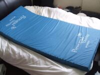Mattress - medical pressure reduction mattress. Never used. Permapad by Parkhouse Healthcare.
