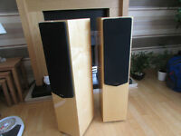 Quad 22L Speakers Birdseye Maple hi-gloss Superb