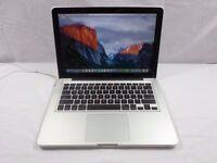 Macbook 13 inch apple mac Pro laptop 8gb ram memory in full working order