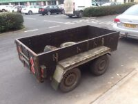 4 wheel trailer for sale or part exchange