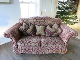 One two seater sofa in excellent condition